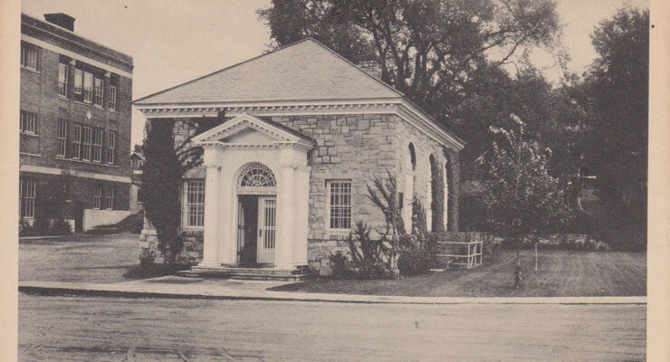 Vintage Postcard: Essex County National Bank, Willsboro, NY