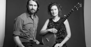 Americana Duo Red Tail Ring Performs at the Grange