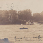 Vintage Postcard: Rosslyn Boathouse, circa 1907