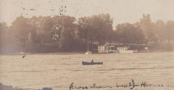 Vintage Postcard: Rosslyn Boathouse, circa 1907