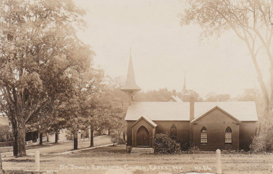 Vintage Postcard: St. John's Church