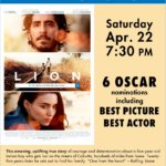 Champlain Valley Film Series to Show LION