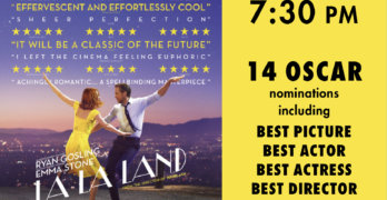Champlain Valley Film Series to Show LA LA LAND
