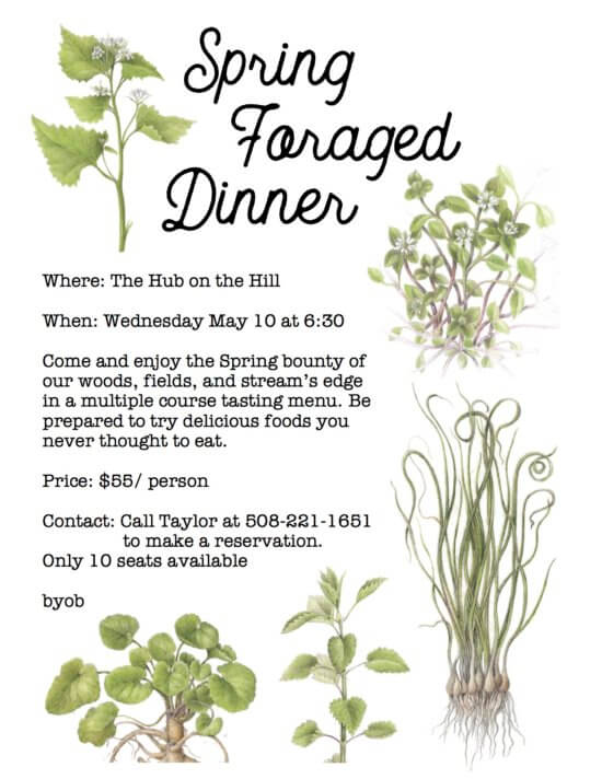 Forage Dinner Flyer
