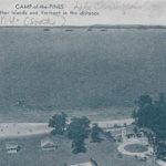 Vintage Postcard: Camp of the Pines