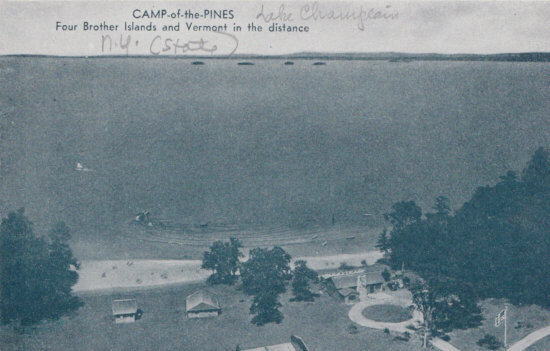 Camp of the Pines, Willsboro, NY