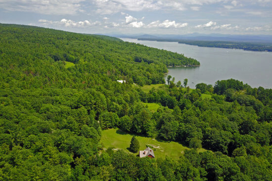 Rock Harbor Residence Near Lake Champlain