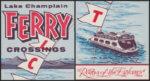 Vintage Artifact: 1961 Ferry Brochure