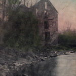 Vintage Postcard: Old Westport Mill