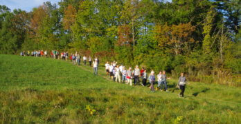 Trail in ​Tip-Top Shape for Farm-to-Fest Hike