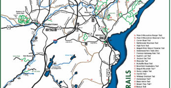 New Trail Map Published by Champlain Area Trails