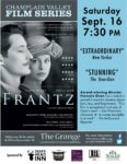 Champlain Valley Film Series to Show FRANTZ