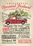 Adirondack Harvest Festival in Westport on Sept. 16th